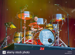 Jamie Morrison from Welsh Rock band Stereophonics performs on stage in  Trinity College Dublin as part od the Summer Series Festival Stock Photo -  Alamy