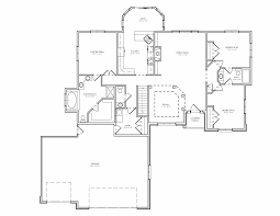 FLOOR PLANS FOR BEDROOM HOUSE Â  Floor Plans   Bedroom House        Three Bedroom Split Bedroom Ranch House Plan With A Car Garage And   Bedroom House