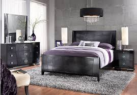 The Sofia Vergara Biscayne King Black 5Pc Panel Bedroom Sofia Vergara Furniture S8