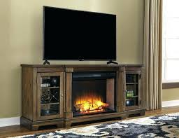 bayside tv console console console with fireplace