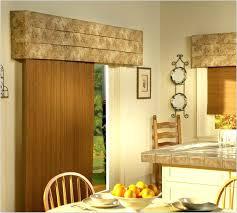 decorative sliding doors wooden window valances with door valance