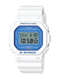 casio g shock offers the latest in trends press release casio white and blue series dw5600wb 7