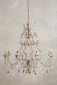 clear crystal radomira chandelier