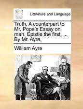 essay on man epistle summary an essay on man epistle 1 summary