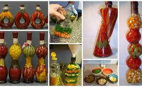 Decorative Vegetable Bottles