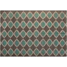 taupe matrix and turquoise rugs for elegant bedroom floor decor