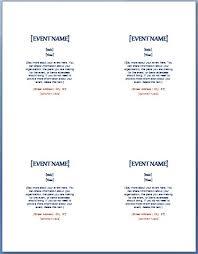 half page flyer quarter sheet flyer template word half page template word template