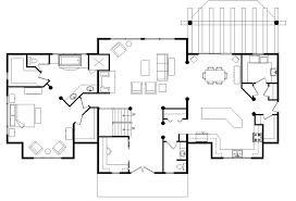 Home Timber Frame Hybrid Floor Plans Wisconsin Log Homes Open Log Home Floor Plans