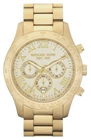 michael kors large layton chronograph watch 45mm nordstrom