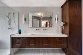 Bathroom Cool Modern Master Bathroom Designs Modern Double Sink