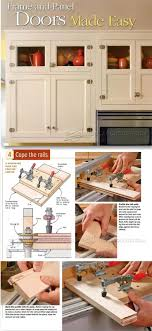 guide making kitchen: making frame and panel doors cabinet door construction techniques woodarchivistcom