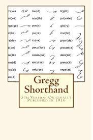 Gregg Shorthand Chart Gregg Shorthand Manual Simplified Amazon Com Books