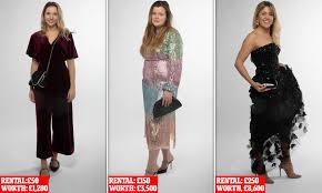 Designer Dress Hire Adelaide Could You Really Borrow A Designer Dress For Your Christmas