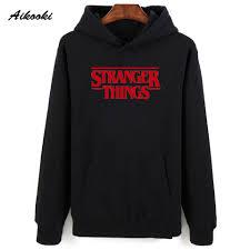 Aikooki <b>Men Hoodie Stranger Things</b> Hoodies Men Sweatshirt ...