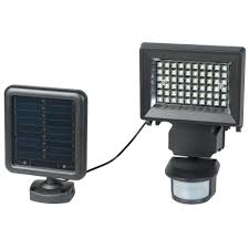 12 Led Pir Motion Sensor 6v 6w Solar Panel Waterproof Led Solar Security Flood Light