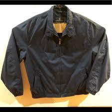Dark Blue London Fog Jacket For Men