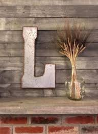 large letters for wall decor elegant metal letter big letter wall letters rustic decor