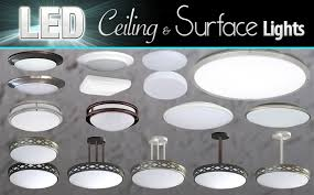 led ceiling surface lights