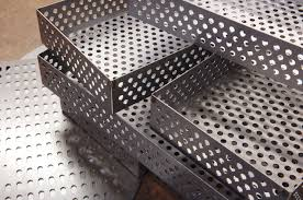 fabricated and perforated metal components