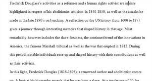 writing a research paper on frederick douglass essay on social issues research paper on frederick douglass