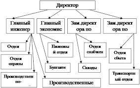 Курсовая работа Производственная и общая структура предприятия Схема структуры управления ОАО Трест КПД