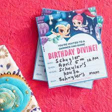 Print Out Birthday Invitations Nick Jr Printable Birthday Party Invitations Nickelodeon Parents 79