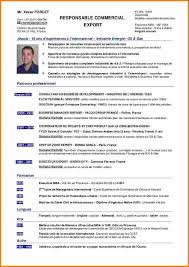 Cv Responsable Commercial Gratuit Rr87 | Jornalagora