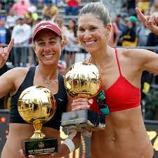 Beach Volleyball Pros Dominating ...