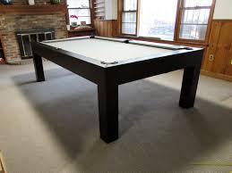 Modern billiard room home billiards Dining Table Robbies Billiards Modern Dining Pool Table