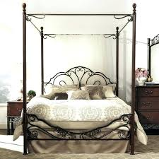 Queen Size Canopy Bed Frame Metal Canopy Bed Frame Queen Best Queen ...