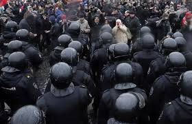 Image result for street protests in st petersburg
