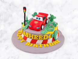 Custom Cars Cake Harvest Cake