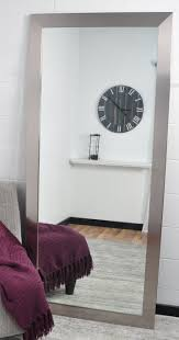 silver floor mirror. Silver Floor Mirror H