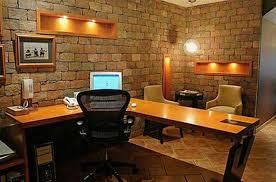 brick office furniture. 15 Cool Home Office Design With Exposed Brick Walls Rilane Furniture U