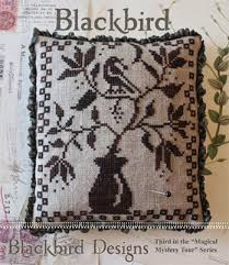 Blackbird Designs Cross Stitch Charts Blackbird Designs Blackbird