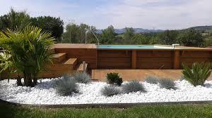 Superbe Terrasse En Bois Autour D Une Piscine Hors Sol 10 Terrasse En Bois Autour Dune Piscine Hors Sol