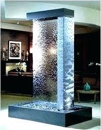 indoor wall fountains indoor waterfall wall glass water wall wall fountain indoor