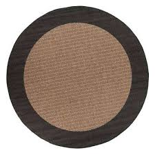 checd field cocoa 9 ft round area rug 6 feet bathroom n