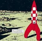 Image result for tintin rocket