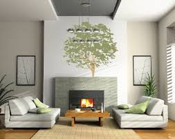 To Decorate A Large Wall In Living Room Large Wall Nursery Tree Decal Olive Leaves 1117 Innovativestencils