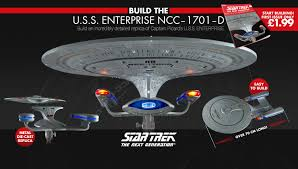Uss Enterprise Light Up Model Build The Star Trek U S S Enterprise Eaglemoss