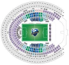 Seating Maps Montreal Impact
