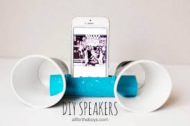 all for the boys diy speakers title