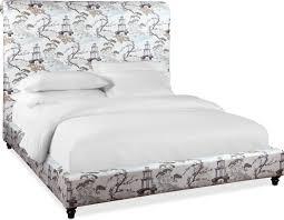 bedroom furniture diana queen upholstered bed pearl
