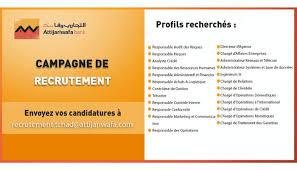 Atijari Wafa Banc Campagne De Recrutement Attijariwafa Bank Tchad Dreamjob Ma