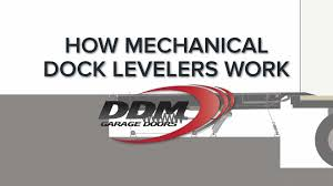 do it yourself garage door instruction library how mechanical dock levelers work