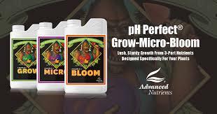 Advanced Nutrients Sensi Bloom Feeding Chart Ph Perfect Grow Micro Bloom Advanced Nutrients