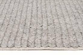 miller chunky knit grey floor rug