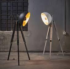 tripod spotlight floor lamp elegant directors light floor lamp best spring urban designs
