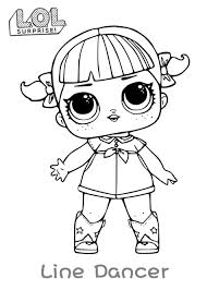 Very Easy Lol Surprise Coloring Pages Printable Lol Dolls Coloring